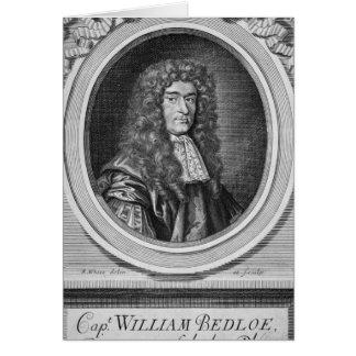 William Bedloe Greeting Card