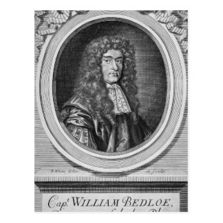 William Bedloe Postcard