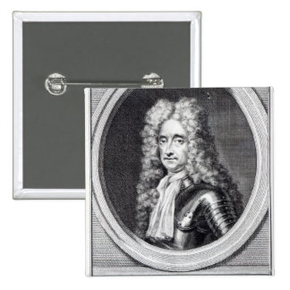 William Bentinck, 1st Earl of Portland 15 Cm Square Badge
