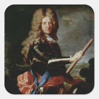 William Bentinck, Earl of Portland Square Sticker