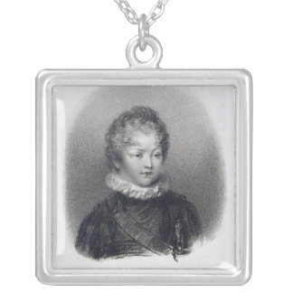 William Betty, 1805 Silver Plated Necklace