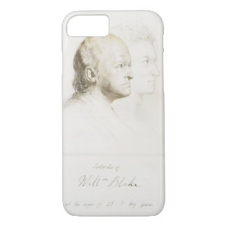 William Blake (1757-1827) in Youth and Age (graphi iPhone 8/7 Case