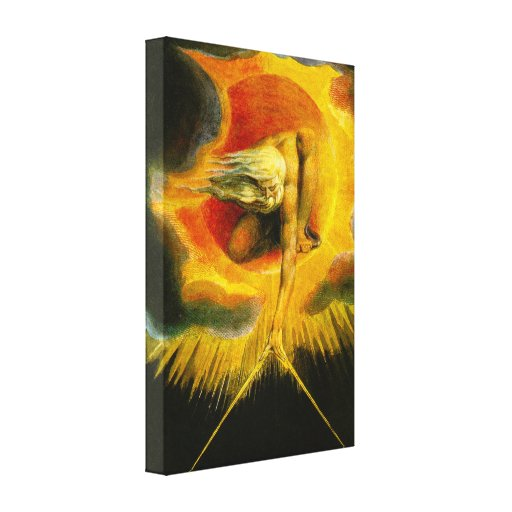William Blake Ancient of Days Canvas Print