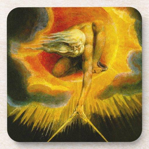William Blake Ancient of Days Coasters