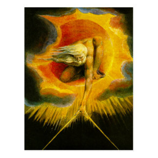 William Blake Ancient of Days Postcard