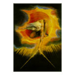 William Blake Ancient of Days Poster