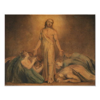 "William Blake ""Christ Appearing to the Apostle"" Photo Print"