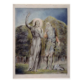 William Blake- Christ Tempted by Satan Post Cards