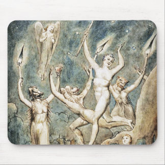 William Blake: Comus with His Revellers Mouse Mat