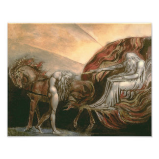 "William Blake ""God Judging Adam"" Photograph"
