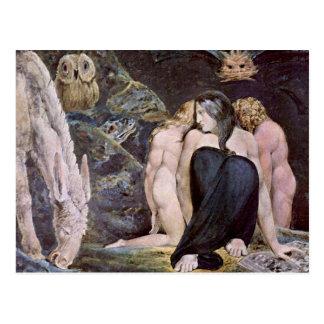 William Blake - Hecate - Night of Enitharmon's Joy Postcard