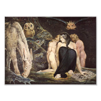 William Blake Hecate Print
