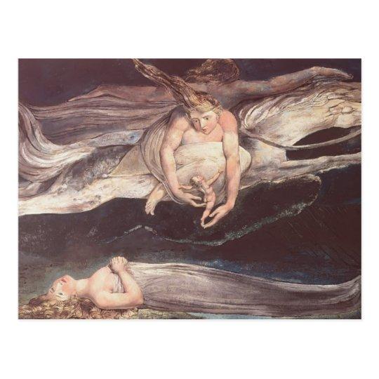 William Blake-Illustration to Dante's DivineComedy Postcard