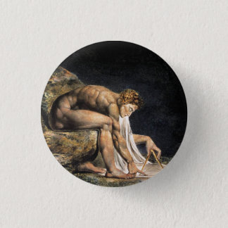 William Blake Isaac Newton Button