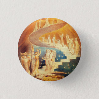 William Blake Jacob's Ladder Button