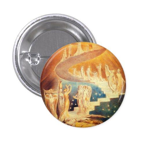 William Blake Jacob's Ladder Button