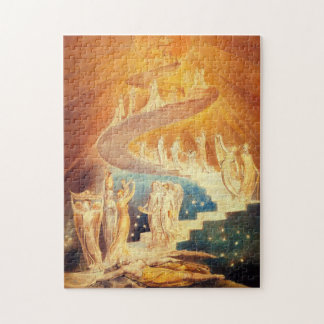 William Blake Jacob's Ladder Puzzle