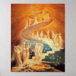 William Blake:  Jacob's Ladder Poster