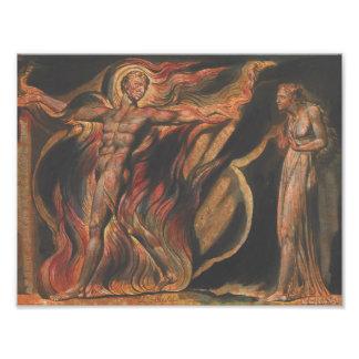 William Blake - Jerusalem, Plate 26, Such Visions Art Photo