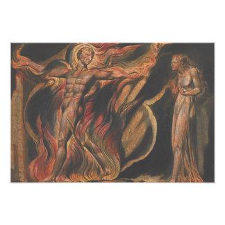 William Blake - Jerusalem, Plate 26, Such Visions Photo Print