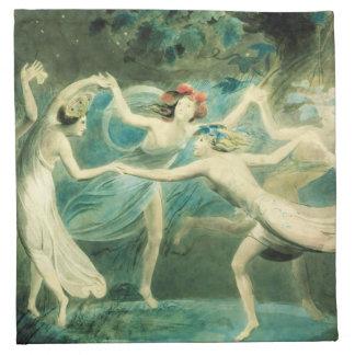 William Blake Midsummer Night's Dream Napkins