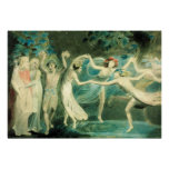William Blake Midsummer Night's Dream Poster
