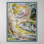 William Blake:  Milton's Mysterious Dream Poster