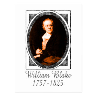 William Blake Postcard