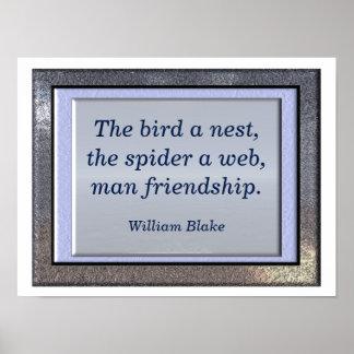 William Blake quote - art print