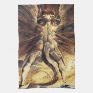 William Blake Red Dragon Kitchen Towel