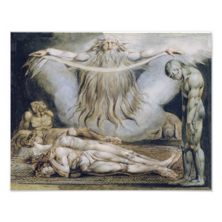 "William Blake ""The House of Death"" Print Photo"