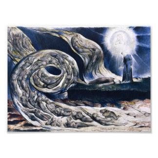 William Blake The Lovers Whirlwind Print Photo Art