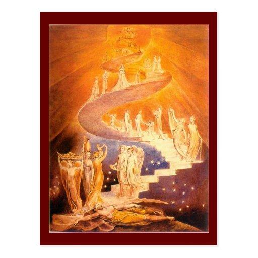 William Blake's Jacob's Ladder Post Cards