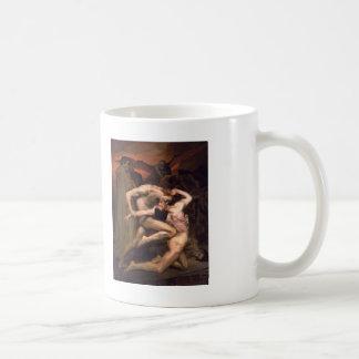William Bouguereau- Dante and Virgil in Hell Basic White Mug