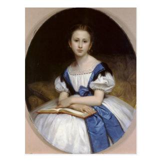 William Bouguereau- Portrait of Mlle Brissac Post Cards
