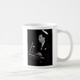 """William Branham Coffee Mug, """"It's not easy for ... Basic White Mug"""