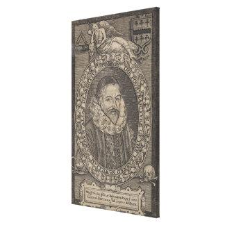 William Camden, c.1636 Canvas Print