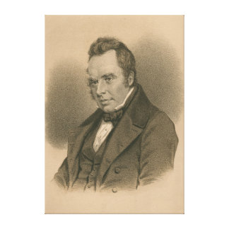 William Carleton Canvas Print