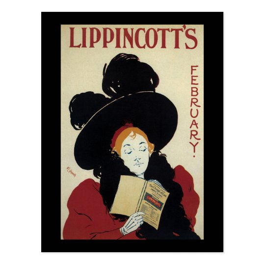 William Carqueville Lippincott's February Postcard