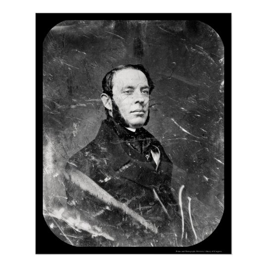 William Cathcart Daguerreotype 1849 Poster