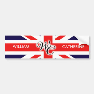 William & Catherine Bumper Sticker
