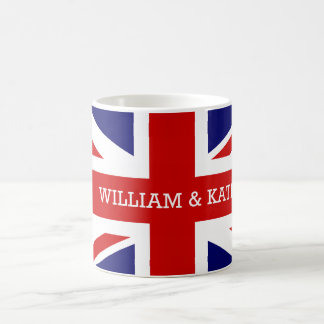 William & Catherine | The Royal Wedding Basic White Mug