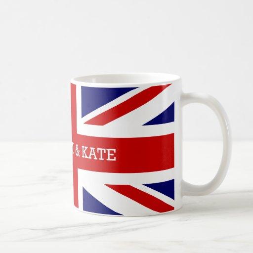 William & Catherine   The Royal Wedding Mugs