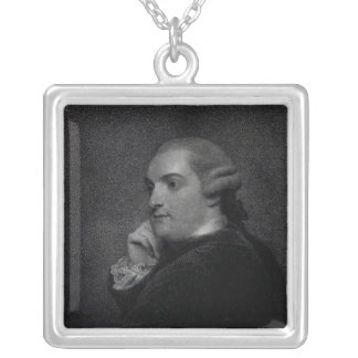 William Cavendish- Bentinck Silver Plated Necklace