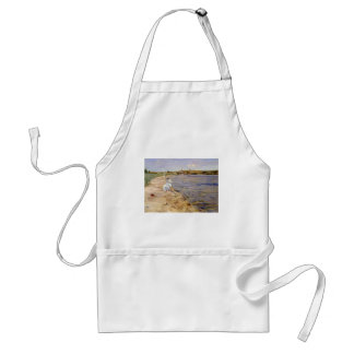 William Chase- Beach Scene- Morning at Canoe Place Apron