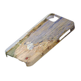 William Chase- Beach Scene- Morning at Canoe Place iPhone 5 Case