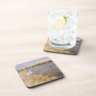 William Chase- Beach Scene- Morning at Canoe Place Drink Coasters