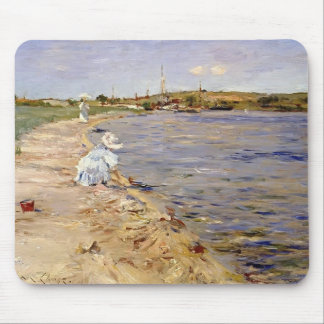 William Chase- Beach Scene- Morning at Canoe Place Mousepad
