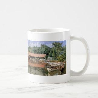 William Chase- Boat House, Prospect Park Basic White Mug
