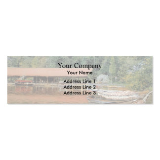 William Chase- Boat House, Prospect Park Pack Of Skinny Business Cards